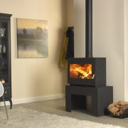 Burley Briary Panorama Woodburning stove